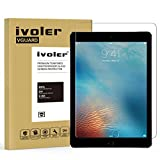 iVoler Apple iPad Pro 9.7 inch Screen Protector with Ultra Clear 9H Hardness Tempered Glass for iPad Air/iPad Air2 - Lifetime Replacement Warranty