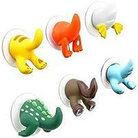 Q4 Ganchos De Succión De Animales para Baño