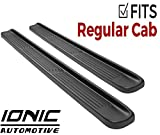 Ionic Factory Style (fits) 2001-2006 Chevy Silverado GMC Sierra Crew Cab Only Running Boards Side Steps (3800901070)