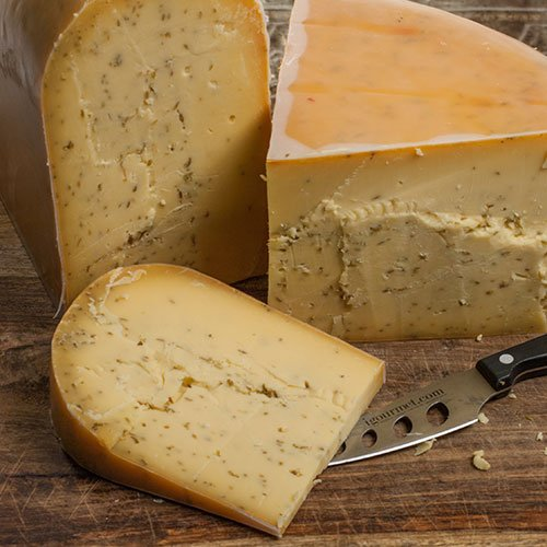 igourmet Leyden by Beemster- Pound Cut (15.5 ounce) (Cheese Dutch)