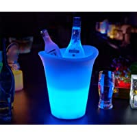 ZAQXSW LED Luminoso Cubo de Hielo Bar Vino
