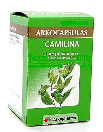 ARKOCAPSULAS CAMILINA 200 CÁPSULAS ARKOCAPS GREEN TEA 300mg Xmas Gift Skin Beauty Gift