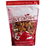 Love Grown Foods Sweet Cranberry Pecan Granola Clusters, 12 Ounce (Pack of 6) Review