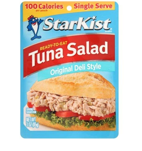 StarKist Ready to Eat Tuna Salad Original Deli Style Chunk Light, 3 Ounce Pouch (Pack of - Fish Salad