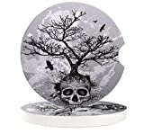 JasmineM 2 Pack Car Coasters for Cup