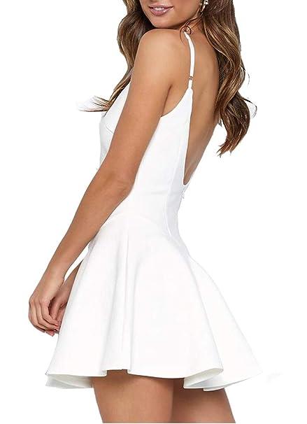 Amazon.com: Just quella - Vestido de fiesta para mujer, sexy ...