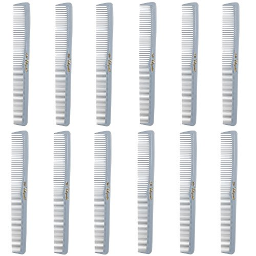 Barber Beauty Hair Cleopatra 400 All Purpose Comb (12 Pack) 12 x - Grey Combs