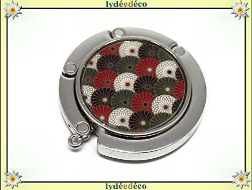 Bolso colgante resina Japón rojo negro blanco verde 4.5cm regalos personalizados navidad amigos cumpleaños invitados boda ceremonia pareja mujer mamá