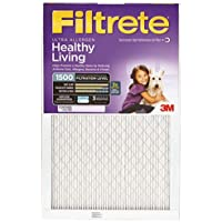 Filtrete Ultra Allergen Reduction Filter, 20-Inch by 30-Inch by 1-Inch, 4-Pack