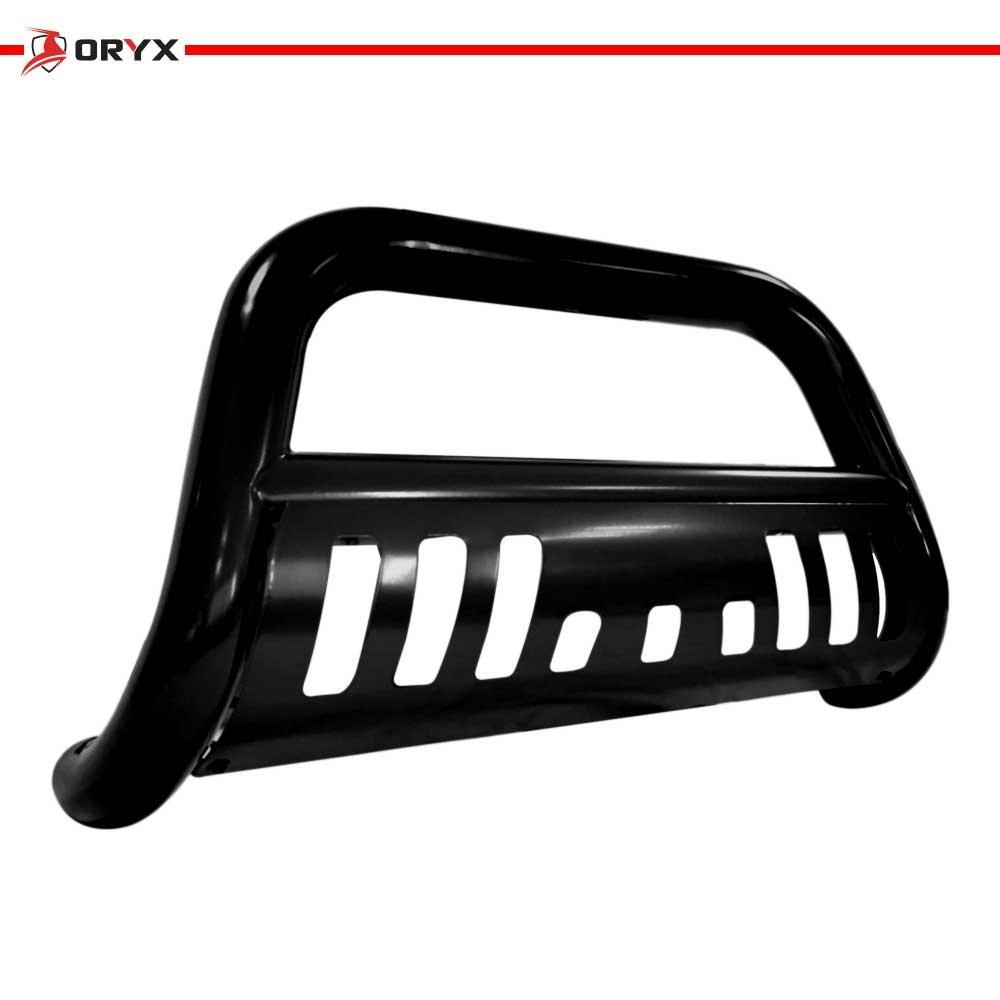 ORYX B7005LB Black Carbon Steel Bull Bar Fits Toyota Tacoma 2005-2015