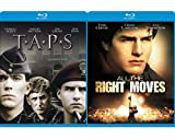 School Story Tom Cruise All the Right Moves & TAPS 80's Movie Bundle Double Feature Set