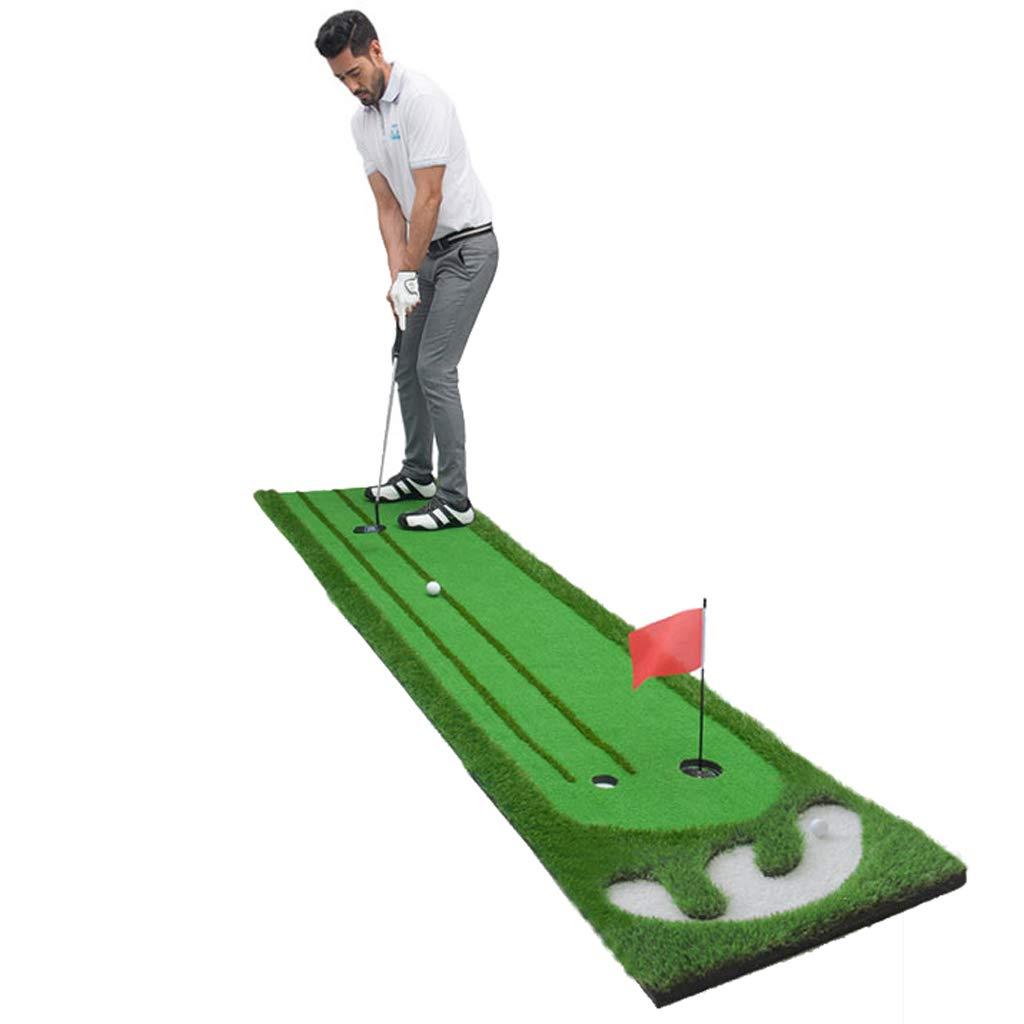 Zfggdの大きいゴルフ草の練習のマット75 * 300cmの運転のチッピングのピッチの置くこと