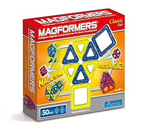 Magformers 30 pieces Magnetic Educational Construction