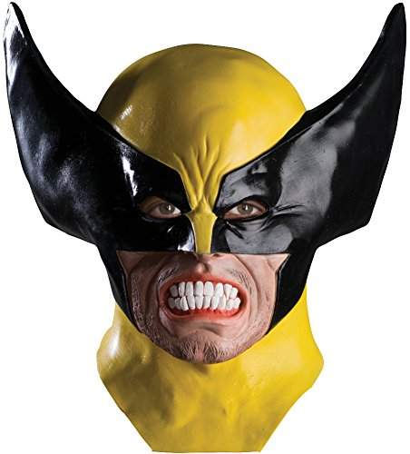 Rubie's Costume Men's Marvel Universe Adult Wolverine Latex Mask, Multi, One Size - Wolverine Costume Amazon