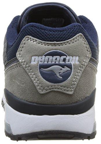 Kangaroos Ultimate 3, Men's Low-Top Sneakers Grey (Mid Grey/Dk Navy 242)