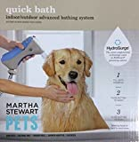 Martha Stewart Pets Quick Bath - Indoor/Outdoor Advanced Bathing System for Dogs - MS-14-554 (Hydrosurge)