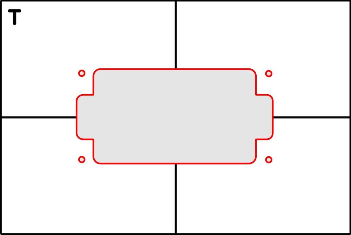 Amazon. Com: pickup routing template humbucker top route: home.