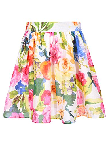 Bonny Billy Little Girls Clothing Fashion Skater Midi Skirts for Kids 5-6Yrs -