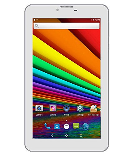 I KALL IK1 Dual Sim 3G Calling Tablet- White…