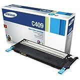 Samsung CLT-C409S Toner 1K Yield for CLP-315, CLP-315W, CLX-3175FN, CLX-3175FW - Cyan