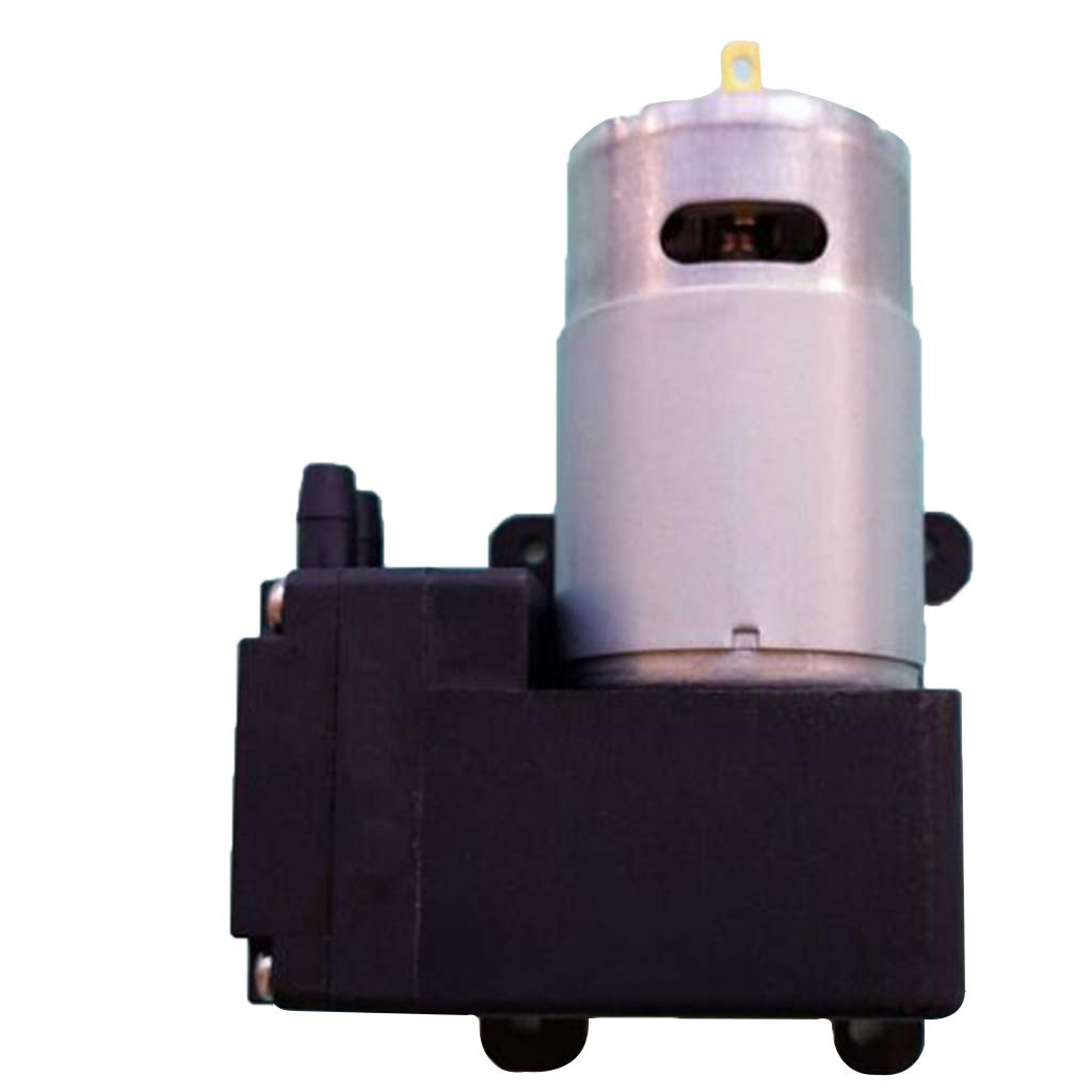 Black+Moonlight Silver 4V12A83R48B Baosity 9//12//24 Volt Mini Vacuum Pump for Vacuum Heating Press Heat Transfer Machine Standard Accessories Parts Continuous Work for 24 Hours