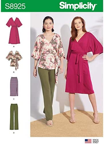 Trousers Skirts Simplicity Sewing Pattern 8925 Dresses Tops