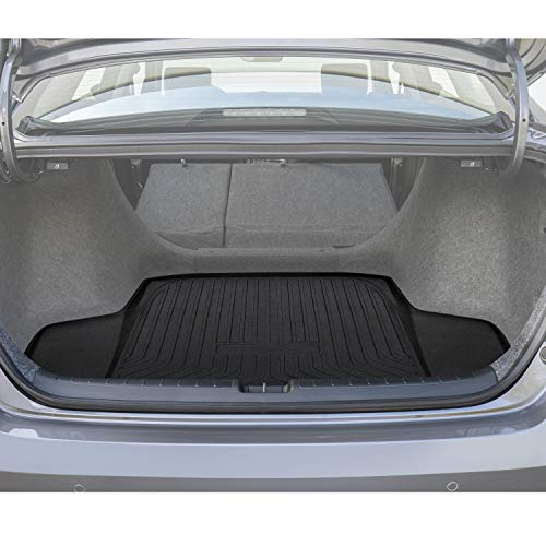 Honda Hybrid Sedan - Danti Cargo Liner Rear Cargo Tray Trunk Floor Mat Protector for 2018 2019 honda accord sedan,sport, touring, hybrid EX, EX-L all model