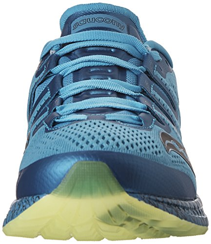 Saucony Freedom ISO Life On The Run Zapatillas Para Correr - SS17 Blue/Citron