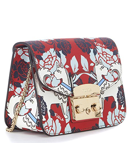 Furla Metropolis crossbody dog multicolor