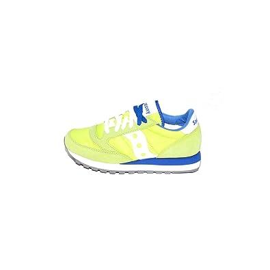 Saucony X2044/450 Jazz, Unisex Sneakers Colore Giallo Blu, Nuova Collezione  Primavera Estate
