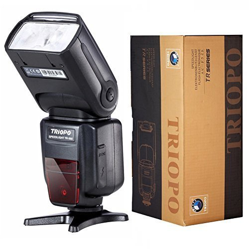 Triopo TR-180 Flash Speedlite for Nikon DSLR Cameras - 2