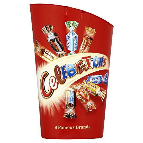 Celebration Chocolates (Original Original Cadbury Celebrations Carton Imported From The UK England British Candy Chocolate)