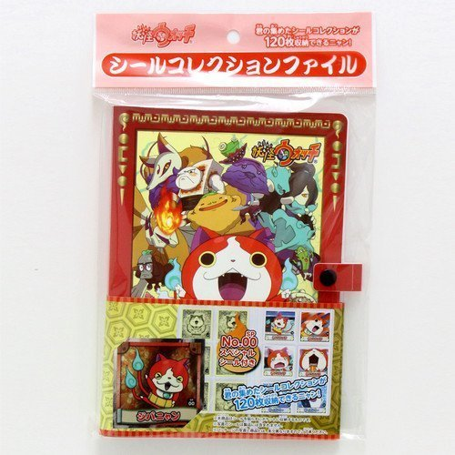 [Japanese anime seal] Yokai Watch ghost watch seal collection file [with one piece of limited seal] (Japan (Watch Onepiece Online)