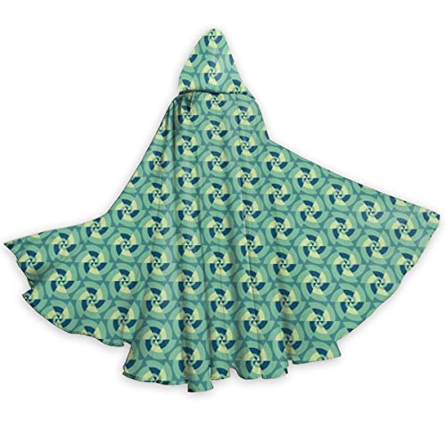 Adult Hooded Halloween Cloak Costumes Party Cape,Retro