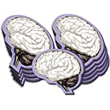 Brain Sticky Notes, 10 Packs-100 Sheets Per Pack