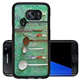 Luxlady Premium Samsung Galaxy S7 Edge Aluminum Backplate Bumper Snap Case IMAGE ID 27788441 vintage kitchen utensils free copy space