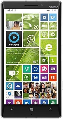 NOKIA LUMIA 930 RM-1045 32GB (WHITE) FACTORY UNLOCKED 4G LTE 3G 2G GSM SIMFREE RM 1045 [ 2G 850/900/1800/1900 | 3G 850/900/1900/2100 | 4G LTE 800/900/1800/2100/2600 ] - International Version No (Nokia Lumia 930 Mobile)