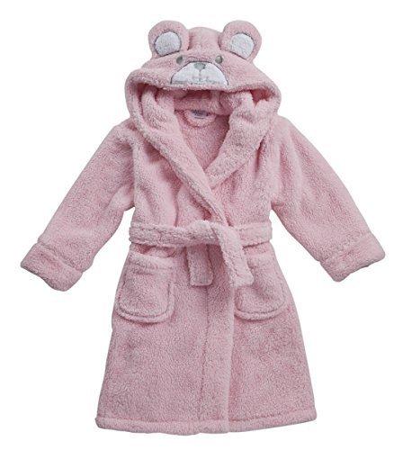 Las niñas oso de peluche Snuggle forro polar albornoz bata rosa pijama Pjs Set 2 - 6 años PINK ROBE 18C227 2-3 Años: Amazon.es: Ropa y accesorios