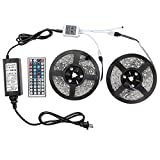 Kyпить WenTop Led Strip Lights Kit DC12V UL Listed Power Supply SMD 5050 32.8 Ft (10M) 300leds RGB 30leds/m with 44key Ir Controller for Pool, TV Backlighting , Truck, Camper and More на Amazon.com