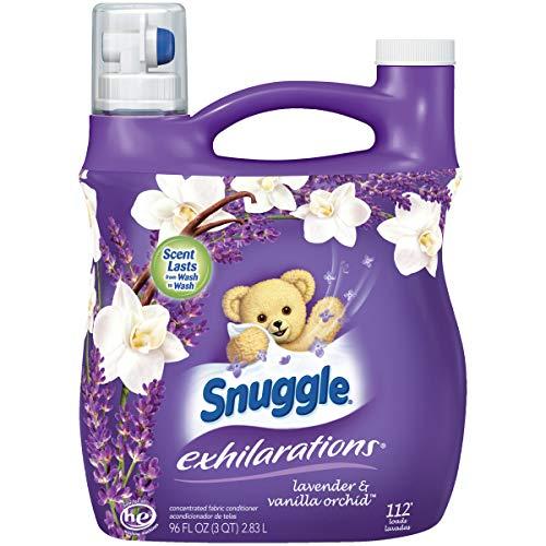 Snuggle Exhilarations Liquid Fabric Softener, White Lavender & Sandalwood Twist, 96 oz (1) ()