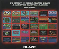 Blaze Gear Sega Master System LCD Handheld - Features 30 ...