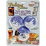 3 Floating Candles/ 100 Wicks-