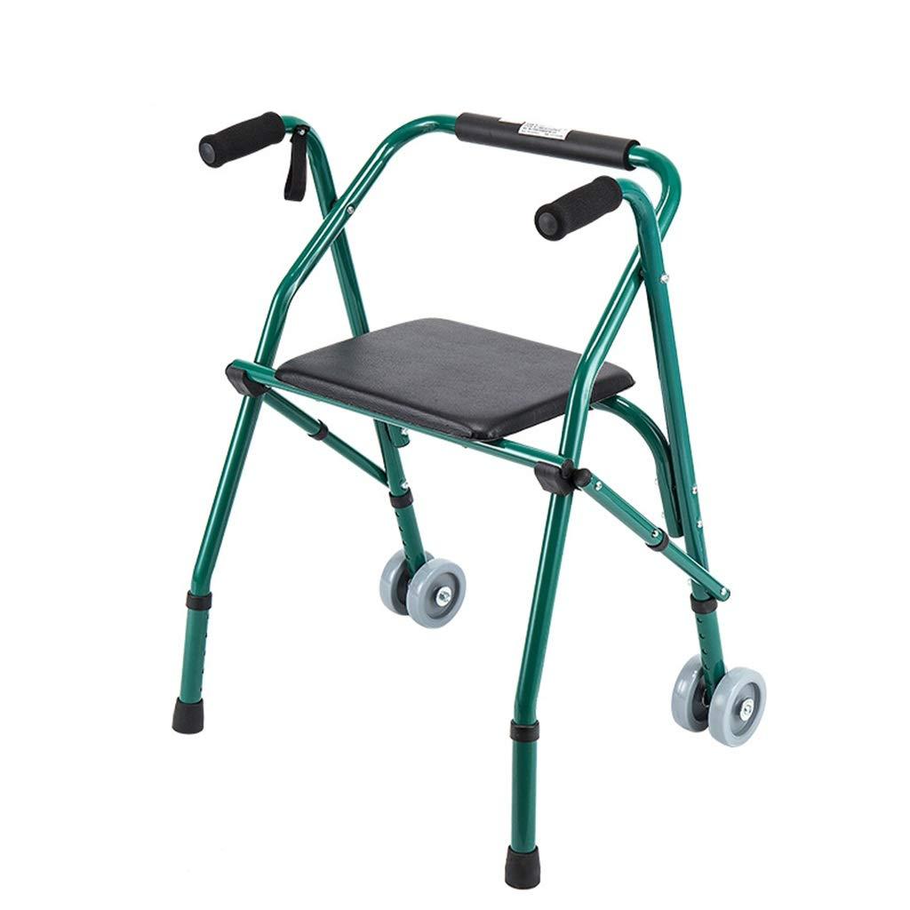 安い購入 車輪および座席が付いている老人のウォーキングフレームのアルミ合金の調節可能な高さの折る椅子 B07NSTBD6L B07NSTBD6L, 日コン:51f4c2e7 --- a0267596.xsph.ru
