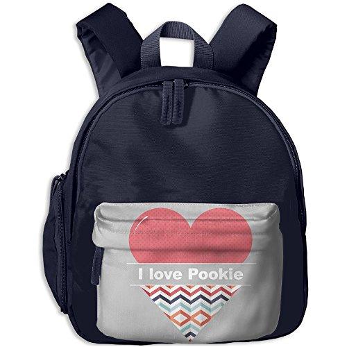 Pocket Design BagI Heart Pookie Childrens'bag Toddler Preschool Backpack Children ComfortBackpacks School Bag