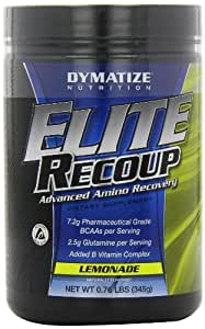 Dymatize Nutrition Elite Recoup, Lemonade, 30 Serving per container 0.76 Pounds
