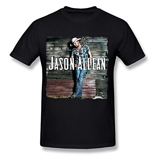 DA Country Singer Jason Aldean Tour 2016 Logo T Shirt For Men Black