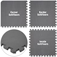 Best Floor Pad SoftFloors Grey Total