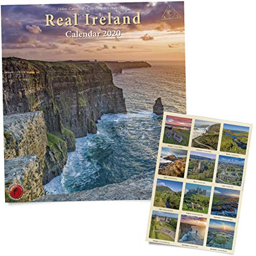 Large Real Ireland Calendar