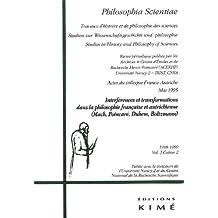 Philosophia Scientiae, v. 03, cahier 02