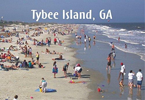 Tybee Island Beach, Tybee Island, Georgia Magnet 2 x 3 Fridge Photo Magnet